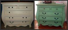 painting old furniture without sanding.