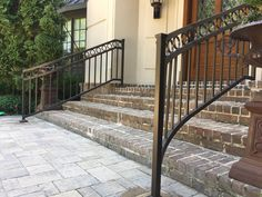 Front Entrances, Stairs, Exterior, Home Decor, Stairway, Decoration Home, Room Decor, Staircases, Outdoor Rooms