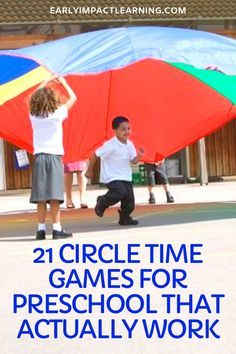 21 Circle Time Games For Preschool That Actually Work | Early Impact Learning