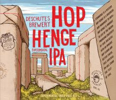An experimental hoppy beer from Deschutes.