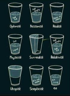 It's in the glass! : funny