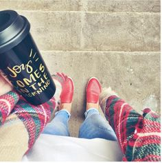 This coffee mug from my FabFitFun fall box is the cutest! Get $10 off your first FabFitFun box with Code SRT10