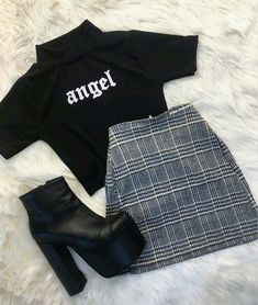 clothes for women,casual outfits,base layer clothing,casual outfits Cute Comfy Outfits, Mode Outfits, Retro Outfits, Girly Outfits, Stylish Outfits, Girls Fashion Clothes, Teen Fashion Outfits, Outfits For Teens, Preteen Fashion