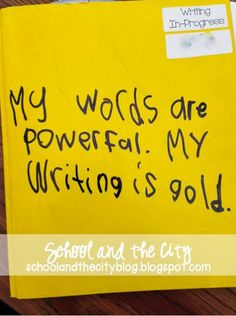 Get Excited About Writing! READ MORE for ideas about implementing writing workshop in your classroom and how to get students motivated to write. Includes a video of Lucy Calkins discussing writing workshop.