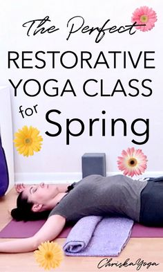 The Perfect Restorative Yoga Class for Spring Restorative Yoga Sequence, Yoga Sequences, Yoga Poses, Crow Pose, Basic Yoga, Meditation For Beginners, Yoga Meditation, Yoga Inspiration, Restoration