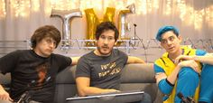 Guys...please....no, stop....d-don't look at me that way. Especially you, Ethan!!! Stap looking sexy!! #markiplier #crankgameplays