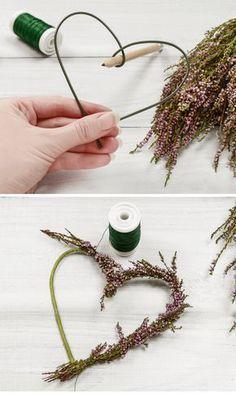 Hier findet Ihr genial einfache DIY-Hochzeitsdeko-Ideen für den Blumenschmuck auf der Hochzeit inklusive Bastelanleitung: Tischdeko, Hängedeko und mehr.