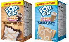 Dunkin' Donuts Coffee Flavors Now Come In Pop-Tarts