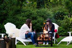 Boho campfire