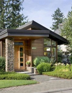 Best 61 Best Flat Roof House Designs Images Landscape Design 640 x 480