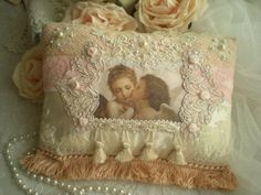 victorian accent pillows | ... Chic Victorian Inspired Accent Pillow OOAK By SincerelyRaven On Etsy