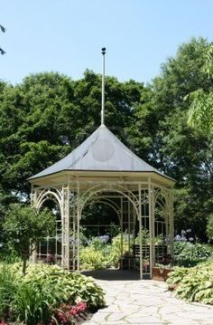 Shakespeare Garden in Stratford Ontario.