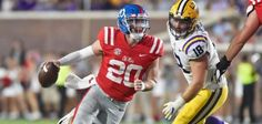 Knee ligaments: Ole Miss quarterback Shea Patterson will miss the ...