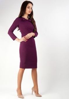 Lady, Dresses For Work, Style, Fashion, Swag, Moda, Fashion Styles, Fashion Illustrations, Outfits