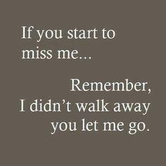 If u start 2 miss .....