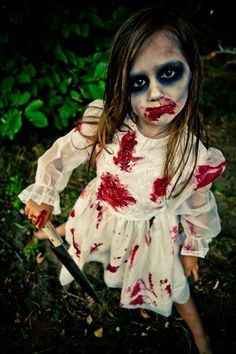 Zombie-Make-up Zombies And Make-up On Pinterest