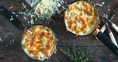 Ajoutez des herbes salées du Bas-Saint-Laurent à votre mac and cheese et voyez-le se transformer en délice du samedi soir! Et pourquoi pas un peu de bière! Griddle Pan, Rice Recipes, Cauliflower, Saint Laurent, Cheese, Vegetables, Breakfast, Food, Madness