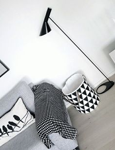 birds cushion and basket from ferm LIVING. www.fermliving.com