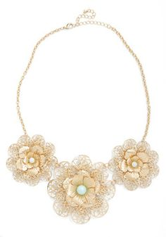 In Pearl Bloom Necklace from ModCloth