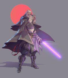 ArtStation - Star wars OC, Nico Fari