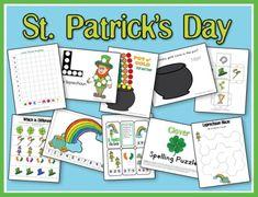 St Patrick Printables
