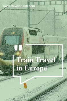 As you probably know I am a massive advocate for train travel not only is it environmentally more sustainable its also a much more social way to travel. While there is a slow food movement travelling slowly is also a great idea.I am adding links to Eurail and Interrail which you should consider particularly if you are a student or under 25 years of age. I travelled Europe on a 3 month Eurail card and it was GREAT. Ways To Travel, Travel Info, Train Travel, Sustainability, Environment, Europe, Sustainable Development