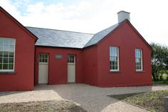 The Old Schoolhouse is located in County Mayo - a wonderfully Christmas spent here...can highly recommend it! www.oldredschoolhouse.com