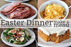 The Ultimate Easter Dinner Menu Planner Easter Recipes, Holiday Recipes, Holiday Meals, Holiday Fun, Easter Dishes, Easter Food, Menu Planners, Le Diner, Easter Brunch