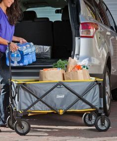 Got one for my parents to take packages and groceries from car to house Car Camping Essentials, Camping Gadgets, Camping Checklist, Camping Hacks, Car Hacks, Camping Accessories, Useful Life Hacks, Glamping, Storage Organization