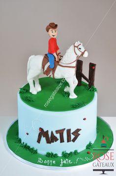 Horse cake , gâteau cheval www.rosegateaux.com
