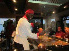 Secrets Wild Orchid Montego Bay: Hibachi restaurant
