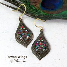 Buy Handmade Art Jewelry for Women Online in India Jewelry Art, Women Jewelry, Jewellery, Wing Earrings, Drop Earrings, Swan Wings, Handmade Art, Crochet Earrings, Accessories