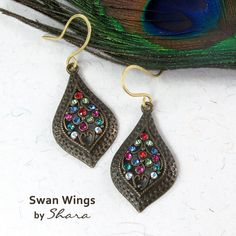 Swan Wings Earrings