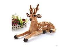 Plush Toys, Simulation of Deer $11 USD #wish #onlineshopping #shoppingmadefun #fashion #gift #creativeliving #householdgoods #homedecor #home