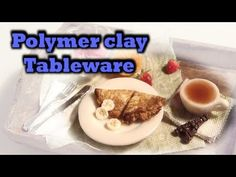 Dollhouse Tableware Tutorial