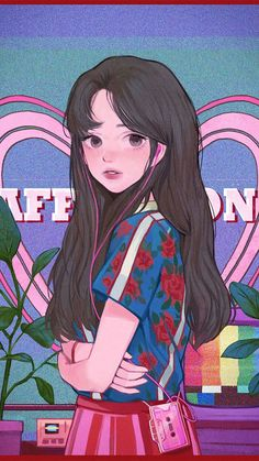 Anime Art Aesthetic Anime - Anime World 2020 Cute Art Styles, Cartoon Art Styles, Aesthetic Art, Aesthetic Anime, Aesthetic Japan, Simple Aesthetic, Aesthetic Pastel, Animes Wallpapers, Cute Wallpapers