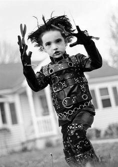 Little Edward Scissorhands. Bad.asss.