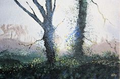 Buy Sunshine and rain - Day 204/365 Postcards from Pembrokeshire, Oil painting by Guy Manning on Artfinder. Discover thousands of other original paintings, prints, sculptures and photography from independent artists.