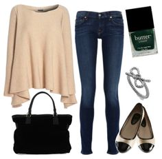casual but stylish comfy outfit. best of all worlds.