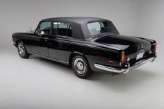 The 1970 Johnny Cash Rolls Royce Silver Shadow is presented in largely original, unrestored condition.
