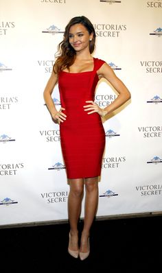 Sexy yet conservative red dress