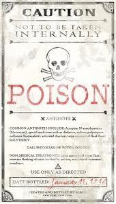 Poison Tag - Arte de Lux ...: HALLOWEEN