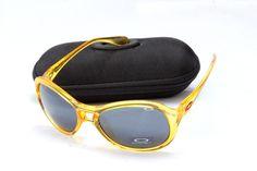 Buy Oakley Women Sunglass Clear Yellow Frame Black Lens