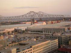 Missippi River Bridge  New Orleans