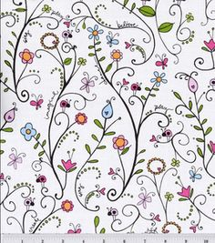 Heidi Grace Reagan's Closet Cotton Fabric-Floral Vine : premium quilting fabric : quilting fabric & kits : fabric :  Shop | Joann.com