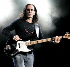 Geddy Lee - as lead man for Rush, Geddy is the master of the bass and an amazing musician all around. Geddy Lee Bass, Rush Concert, Fender Bass Guitar, Rush Band, Rock And Roll Fantasy, Alex Lifeson, Lead Men, Neil Peart, Jazz Musicians