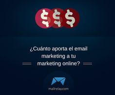 ¿Cuánto aporta el email marketing a tu marketing online? http://blgs.co/oUdK7p