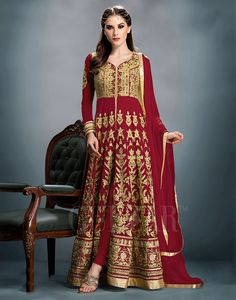 Pakistani Designer Bollywood Ethnic Suit Dress Salwar Indian Kameez Anarkali…