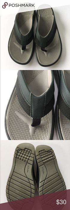 Men's Clark's sandals Like new! Only worn once by my husband who decided he didn't want them. They're called Cloudsteppers. Light and they look comfy! Clarks Shoes Sandals & Flip-Flops
