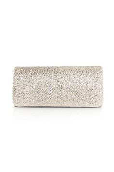 Shimmer Stone Flap Clutch #camillelavie | Metallics | Pinterest
